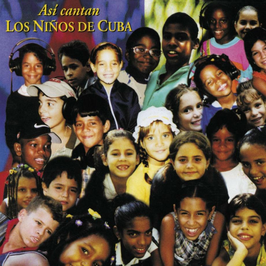 Portada de Así cantan los niños de Cuba   carloscano.es