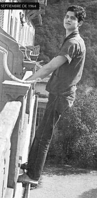 Carlos Cano en Suiza, en agosto de 1964 | carloscano.es