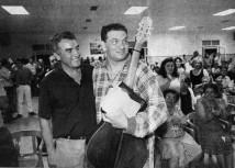 Diego Cañamero y Carlos Cano   carloscano.es