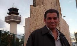 Carlos Cano en el aeropuerto de Granada | carloscano.es