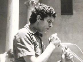 Carlos Cano durante el primer homenaje a Lorca | carloscano.es