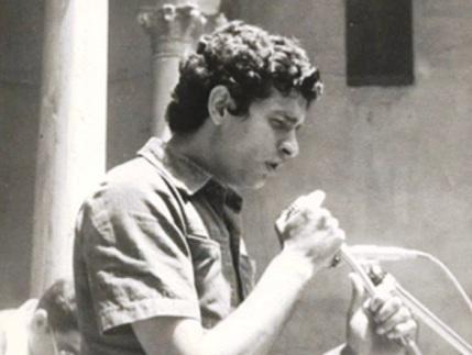 Carlos Cano durante el primer homenaje a Lorca   carloscano.es