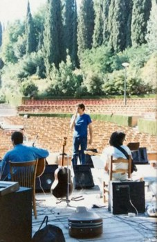 carlos cano en el generalife en 1987