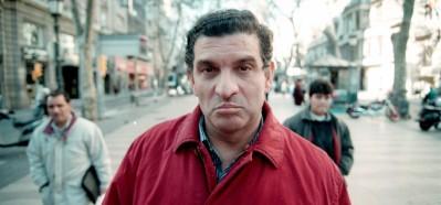 Carlos Cano en la Rambla de Barcelona, 1996. Foto de Julio Carbó | carloscano.es