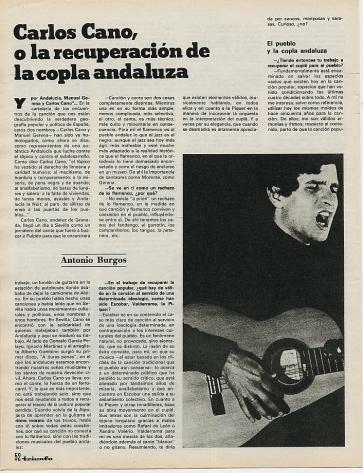 Carlos Cano o la recuperación de la copla andaluza   carloscano.es