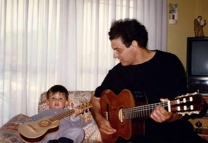 Carlos Cano y su hijo Pablo   carloscano.es