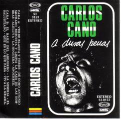 Cassete A duras penas de Carlos Cano | carloscano.es