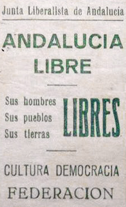 Junta Liberalista de Andalucía - Juntas Liberalistas