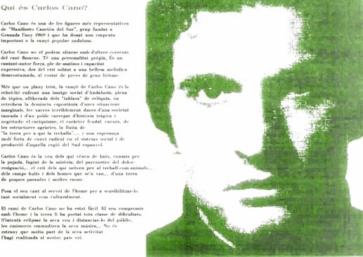 Qui és Carlos Cano?