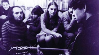 Carlos Cano 1972 librería Shakesperare and Company